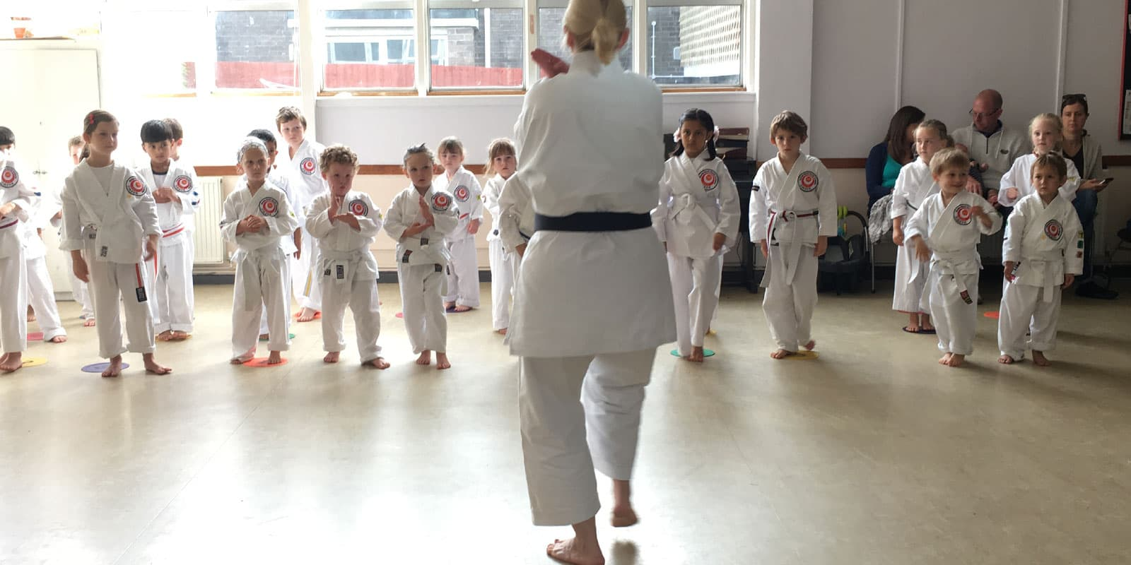 Small childrens Karate Classes Age 3-4 years