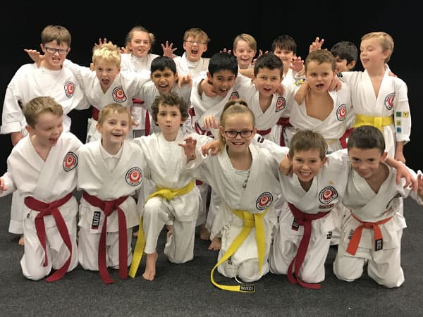 Junior Karate classes in Cardiff